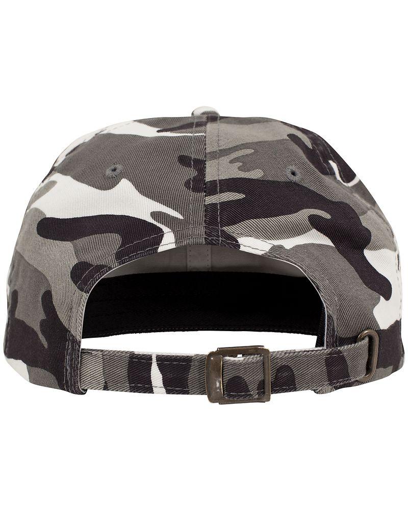 Flexfit Low Profile Camo Washed Cap Coat Parapluie Bonnet Basecap Curved Visor Casquette