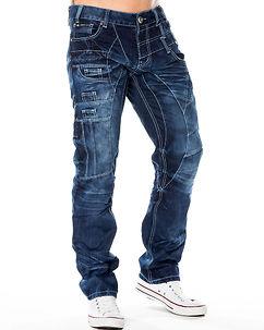 KM-040 Jeans Denim Blue