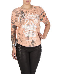 L.A Skull Shirt Papaya Punch