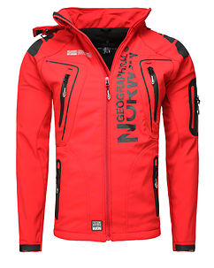 Tambour-Taco Softshell Jacket Red