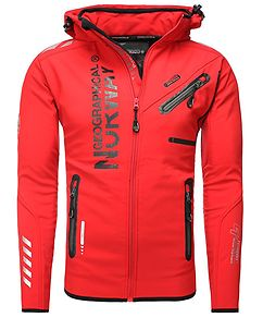 Richier Softshell Jacket Red
