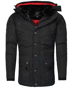 Calcul Parka Jacket Black