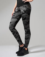 Ladies Dark Camo Leggings