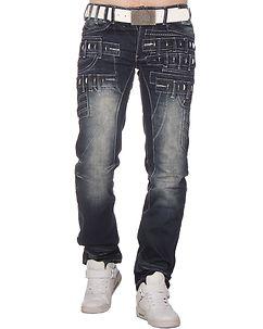 Warder Jeans Denim Blue