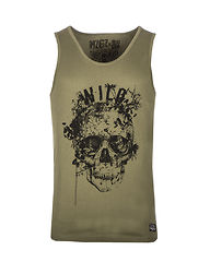The Level Wild Tank Top Olive