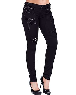 Cecily Jeans Black