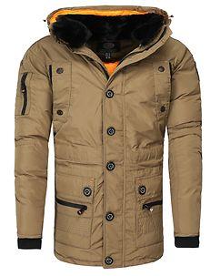 Calcul Parka Jacket Beige