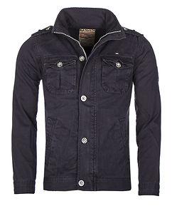 Bay Cotton Jacket Navy