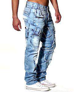 C-989 Jeans Light Denim Blue