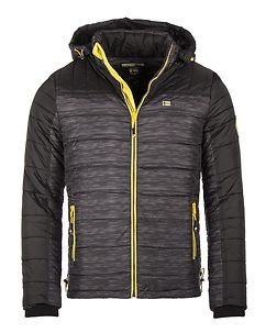 Bittel Winter Jacket Black Melange