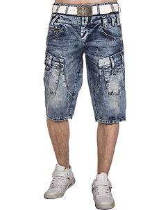 C-50 Denim Shorts Blue
