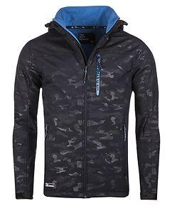 Incognito Softshell Jacket Navy Camo