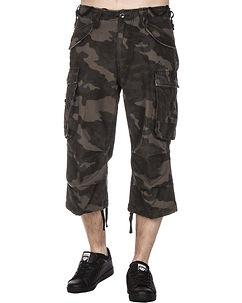 Hadlow 3/4 Trouser Dark Camo