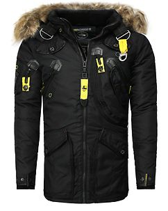 Agaros Parka Jacket Black