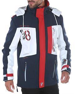 Corrs Softshell Jacket Navy-White