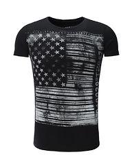 U.S Flag Black