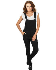 Ladies College Overall Black