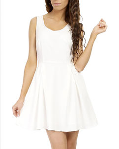 Laura Dress White