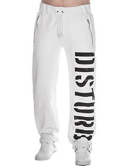 DSTRB Sweat Pants White