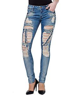 Reiana Jeans Denim Blue