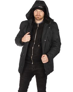Lucky Winter Jacket Black