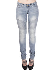Eve Super Slim Biker Light Denim