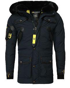 Acore Parka Jacket Navy