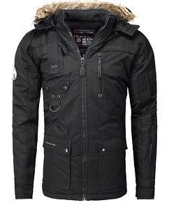 Chir Parka Jacket Black