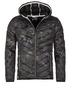 Leerun Jacket Camo Khaki