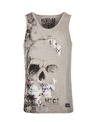 The Level Tank Top Grey
