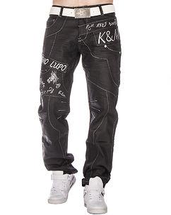 KM-322 Jeans Black