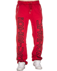 Visions Sweat Pants Red