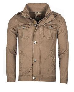 Bay Cotton Jacket Sand