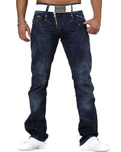 C-768 Jeans Dark Blue