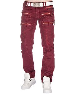 Salvatore Jeans Red