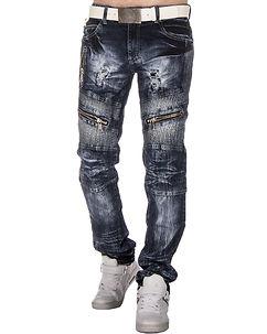 KM-136 Jeans Dark Denim