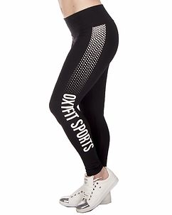 Sea Leggings Black/White