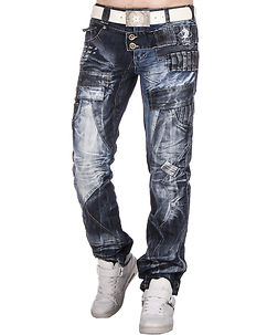 KM-050 Jeans Mixed Blue