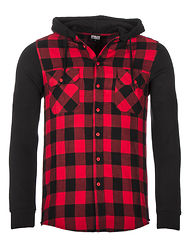 Mountain Flanell Black/Red