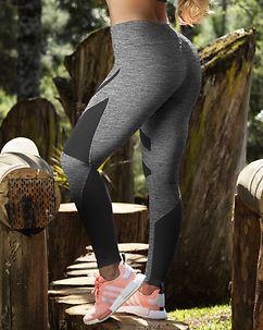 Amarilis Leggings Grey Melange