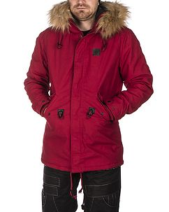Clayton Winter Jacket Red