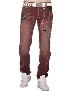 Brentley Jeans Burgundy
