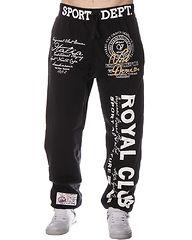 Royal Club Jogger Black/Black