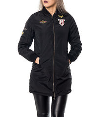 Westbadge Long Bomber Black