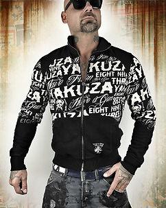 Allover Label Sweater Black
