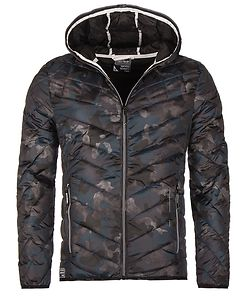 Leerun Jacket Camo Blue