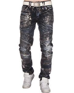 CD334 Jeans Dark Denim Blue