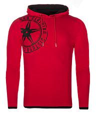 Logo Hoodie Red/Black