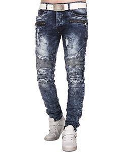 Deacon Jeans Denim Blue