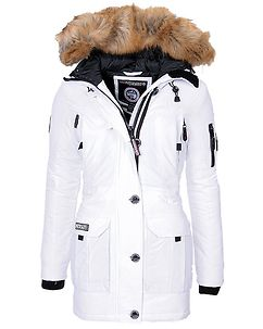 Airline Parka White